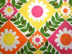 Vintage Wrapping Paper Full sheet Gift Wrap by TillaHomestead
