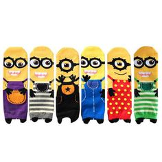 - Item Type: Sock - Sock Type: Casual - Pattern Type: Character - Material: Cotton - Thickness: Standard - Item Length: 15.5cm