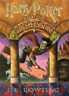 """""""Harry Potter and the Sorcerer's Stone"""" by J.K. Rowling released on June 30, 1997. The first of seven novels, Harry Potter and the Sorcerer's Stone uses the miscellaneous typeface to attract potential readers. It adds to the fictional and eerie feel of the story itself. The font used for the name, Harry Potter has become familiar to the public eye."""