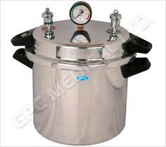 Sterilizer Pressure Cooker Double/Single Rack 6 ltr to 75 ltr
