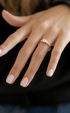 Wedding Day Nails, Wedding Nails Design, Wedding Nails For Bride Natural, Wedding Manicure, Simple Wedding Nails, Cake Wedding, Wedding Bands, Weding Nails, Wedding Nail Colors