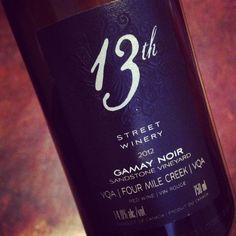 13th Street Winery Gamay Noir Sandstone Four Mile Creek 2012 #dansmonverre #TasteOntario