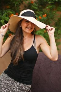 Genie by Eugenia Kim Cecily Sunhat with Black Scarf  www.hintboutique.com  New Customer Promo Code: new15  to save 15% on your order!