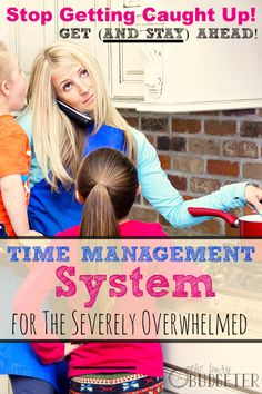 Time management system for the severely overwhelmed! This is the only thing I've ever used that worked. And that's coming from someone who has tried it ALL.