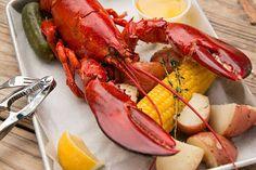 Lobster (w) protein, calcium, magnesium, zinc