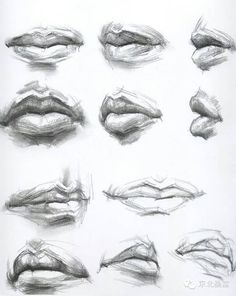 Art Practice/ drawing lips