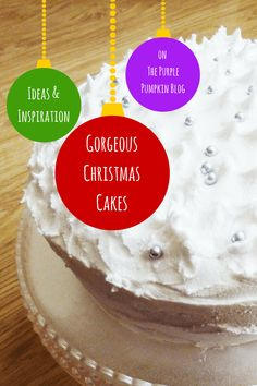 Are you making Christmas cakes? Are you stuck for ideas? I& got a wonderful selection of Christmas Cakes I& sourced from around the web Christmas Cakes, Christmas 2014, All Things Christmas, Snack Recipes, Dessert Recipes, Snacks, Desserts, Purple Pumpkin, Vegetable Dishes