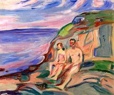 bofransson: Sunbathing Edvard Munch - 1915