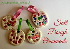 Playful Learners: Salt Dough Ornaments