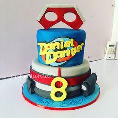 Henry Danger fondant kids character cake #kidscake #henrydanger #charactercake #fondant