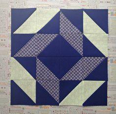 Block 2 pieced