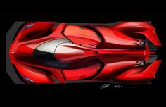 Ferrari Piero T2 LM (the reclaim of Le Mans) on Art Center Gallery