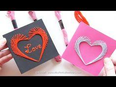 Des valentins à bricoler pour les plus grands! Des patrons gratuits! - Bricolages - Trucs et Bricolages
