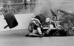 The horrific crash of Danny Ongais at the 65th running Indianapolis 500 in 1981.