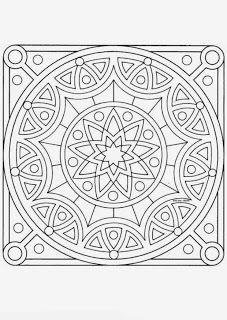 Mandalas Para Pintar: mandalas para pintar. Love this design.