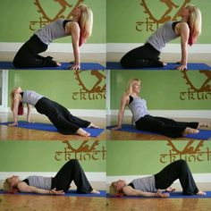 3 Exercises to Strengthen the Pelvic Floor Pelvic floor, or Kegel muscles, rest like a hammock underneath the bladder and uterus, and because these muscles weaken as we get older, it's especially important to strengthen them. Hata Yoga, Pelvic Floor Exercises, Lose Weight, Weight Loss, Floor Workouts, Gym Time, Excercise, Men Exercise, Workout Men
