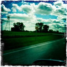 My drive to Sandwich, IL