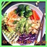 Buddha Bowl Avocado  | Asian Inspired Buddha Bowl #vegan #sweetsimplevegan #buddhabowl sweetsimplevegan...  #buddhabowlavocadochickpea #BuddhaBowlavocadoglutenfree #buddhabowlavocadolachs #BuddhaBowlavocadoveganrecipes Vegan Avocado Recipes, Cabbage, Gluten Free, Sweets, Asian, Chicken, Vegetables, Inspired, Inspiration