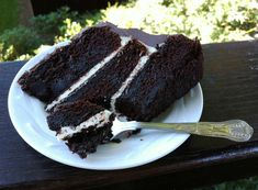 Chocolate whiskey layer cake. My husband is a BIG fan of Jack Daniels so will be attempting this for his 30th birthday in a few weeks