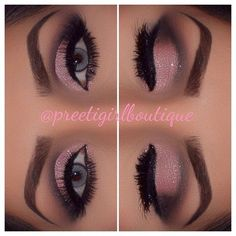 Preeti Girl @preetigirlboutique Naked 3 Pink Eyes...Instagram photo |... ❤ liked on Polyvore featuring beauty products