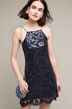 Poisat Sequined Halter Dress