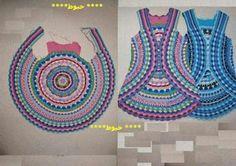 Pattern/Patrón: lovely daisy crochet border / borde o puntilla de margaritas hermoso al crochet | Tejido Facil