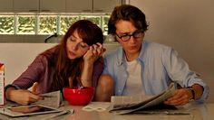 Zoe Kazan and Paul Dano in Ruby Sparks Cinema Quotes, Movie Quotes, Love Movie, Movie Tv, Movie Scene, Movies Showing, Movies And Tv Shows, Ruby Sparks, Zoe Kazan