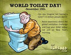 InfoDust: ‪#‎WorldToiletDay‬ ‪#‎POO‬ - No one likes to talk ...