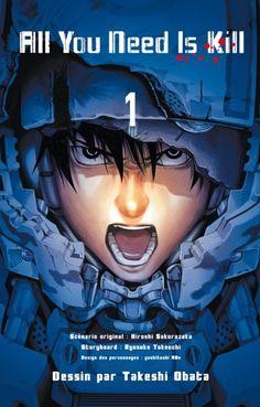 Sakurazaka, Hiroshi & Obata, Takeshi : All you need is kill, tome 1. Edition Kazé, 2014, 208 p.
