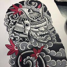 japanese tattoos meaning Japanese Tattoos For Men, Japanese Tattoo Symbols, Traditional Japanese Tattoos, Japanese Tattoo Designs, Japanese Tattoo Art, Japanese Sleeve Tattoos, Samurai Mask Tattoo, Helmet Tattoo, Alien Tattoo