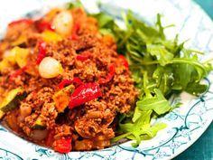 Chili con carne LCHF