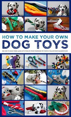 dog toy Want to make your own dog toys Check out our doggone great collection of DIY dogs toy instructions and much more at Dalmatian DIY! Homemade Dog Toys, Diy Dog Toys, Pet Toys, Diy Animal Toys, Diy Toys To Sell, Baby Toys, Positive Dog Training, Training Your Puppy, Training Tips