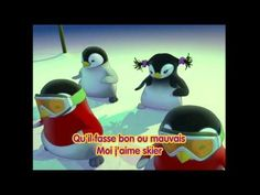 Pigloo - Moi j'aime skier - ( paroles ) YourKidTV
