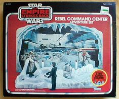 Rebel Command Center Adventure Set (Sears Exclusive) - Star Wars Collectors Archive