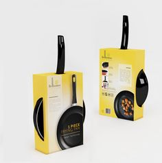 Cookware Packaging - A mass selling commodity required an impressive packaging to stand out evidently in a super market.