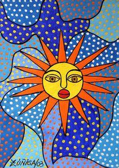 """""""Olorun"""" sun art by Lawrence Zúñiga Batista"""