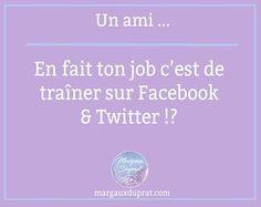 Visuel réalisé pour ma page facebook. Un funy fact sur les community manager :)  #communitymanager #funyfact #fun #visuel