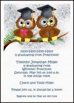 find lots of sample wordings and sayings for preschool and kindergarten graduation announcements and invitations
