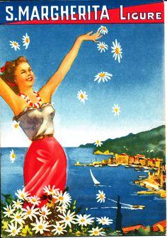 Dépliant dell'Azienda Autonoma di Soggiorno di S. Margherita Ligure (1949) #liguria