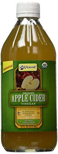 Vitacost Organic Apple Cider Vinegar with Mother  16 fl oz by Vitacost Brand *** ** AMAZON BEST BUY **