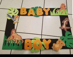 Lion King Photo Frame For Babyshower!
