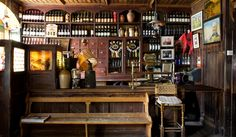 """McCarthy's bar in Tipperary is a traditional pub with a quirky side; as they say themselves: """"We wine you, dine you and bury you."""""""