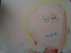 Another self portrait by a 3 yr old