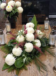 Flower Shop Design, Floral Design, Casket Sprays, Chrysanthemum, Funeral, Floral Arrangements, Christmas Wreaths, Floral Wreath, Holiday Decor