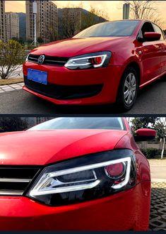 VLAND led headlights assembly for new VW Polo headlamps Jetta Vw, Vw Passat, Custom Headlights, Car Headlights, Vw Polo 2012, Mk6 Gti, Volkswagen Golf Mk1, Vw Gol, Headlight Assembly