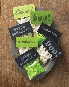 Creepy Custom Favor Bags   Step-by-Step   DIY Craft How To's and Instructions  Martha Stewart