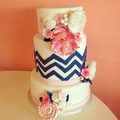 Bakery - Wedding Cake - New Braunfels, TX - WeddingWire Nautical Cake, Nautical Wedding, Floral Wedding, Wedding Cake Prices, Cool Wedding Cakes, Dream Wedding, Wedding Day, Wedding Stuff, Wedding 2015