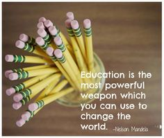 education changes everything
