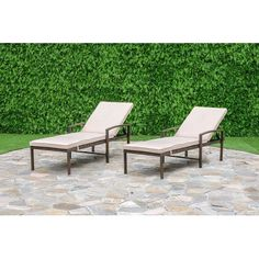 Found it at Wayfair - Chapel Hill Chaise Lounge Set with Cushion