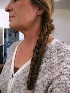 Finally I master the Fishtail braid in my hair~